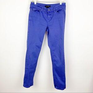 White House Black Market Skinny Slim Ankle Jeans